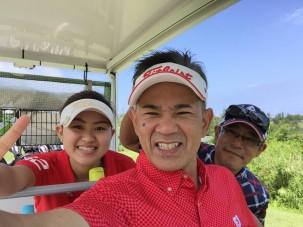 大好きなもの 暑い夏 ゴルフ