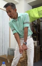 親力セミナー打ち合わせ中。ゴルフスイングから、何を学ぶか!