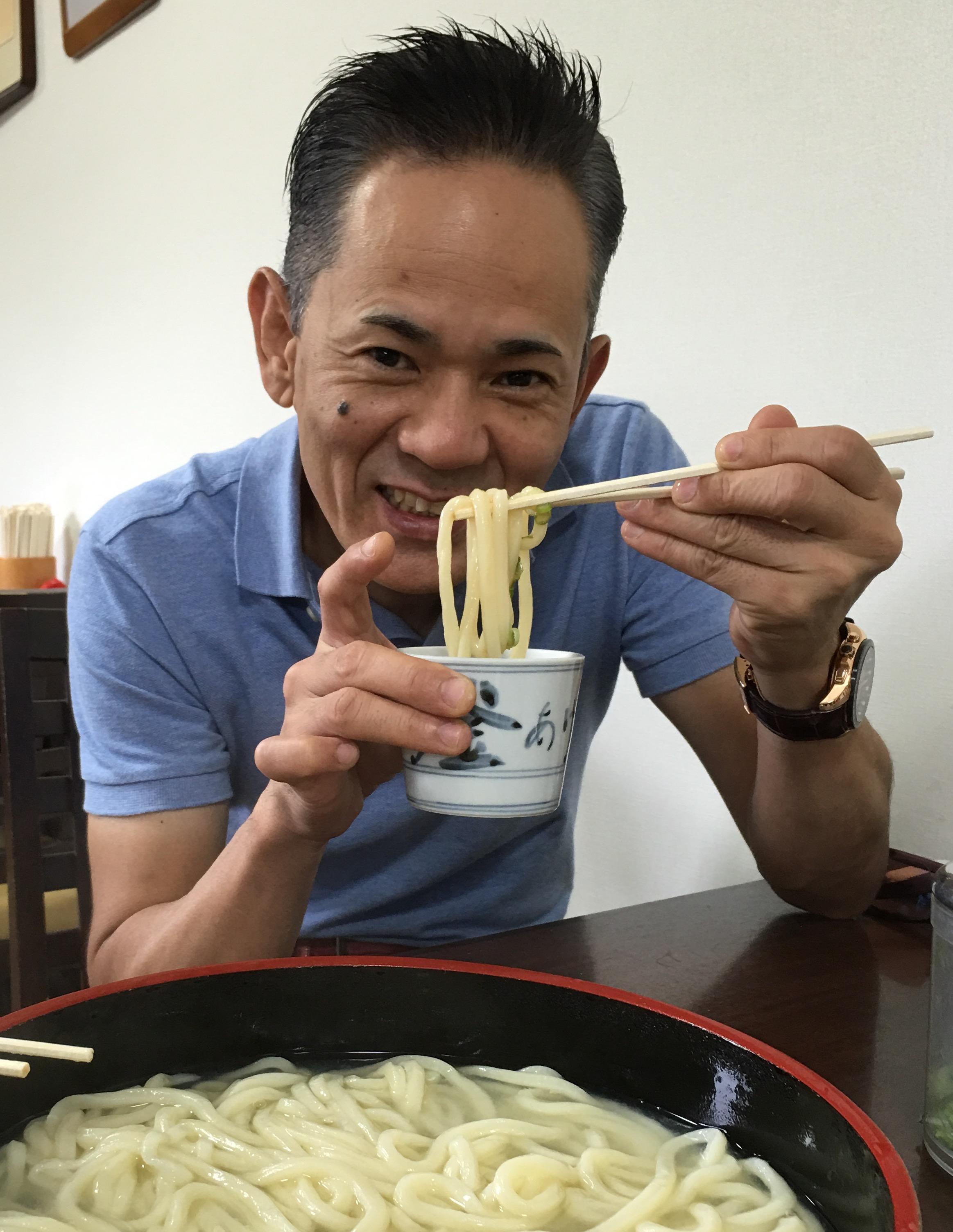 さすがうどん県 朝、昼、オススメうどん食べました。 地元の方のオススメ‼️もちろん美味しかったぁ