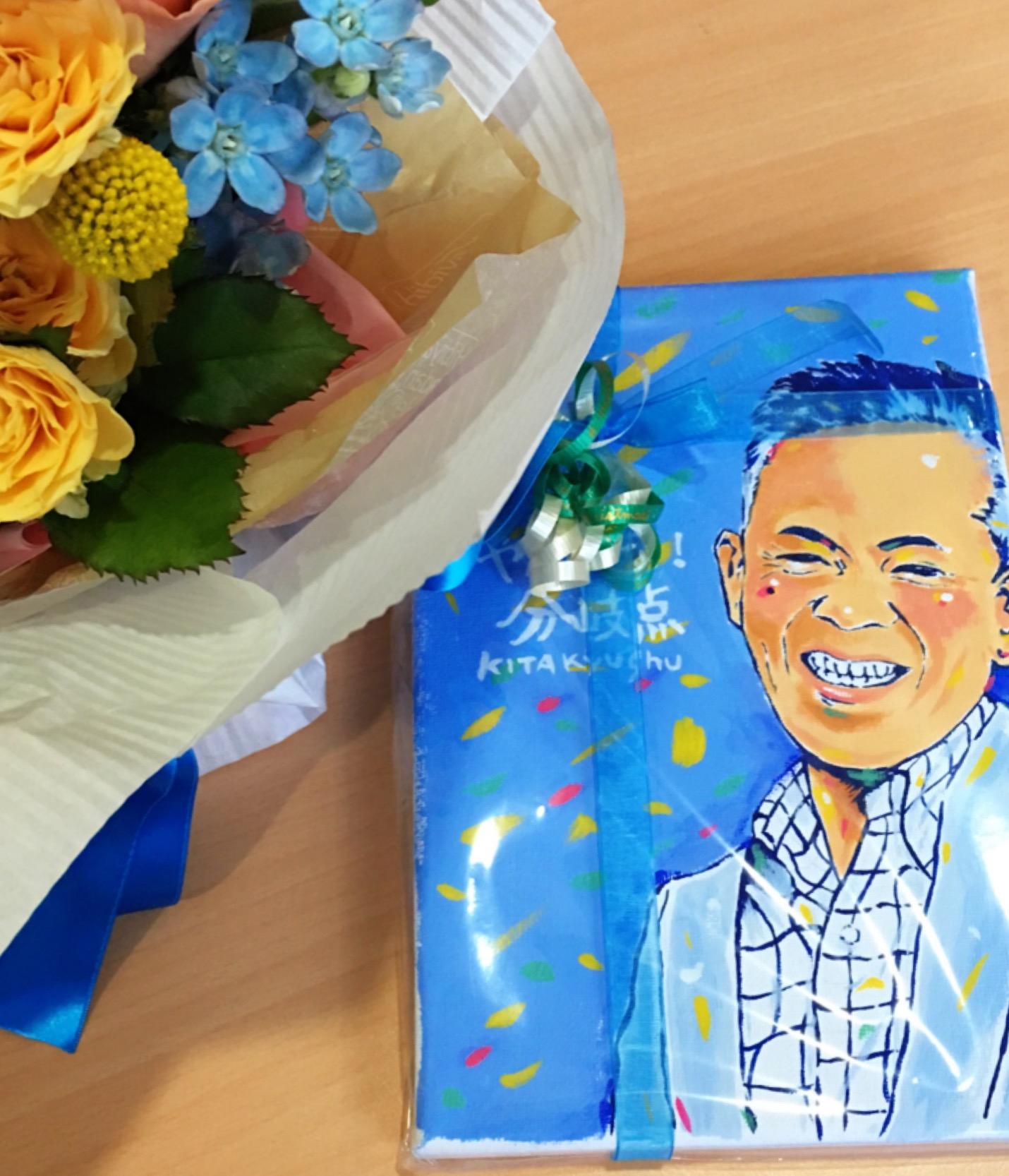 北九州講演会 参加の方からの頂いた絵‼️素敵すぎます。 ありがとう〜〜♬