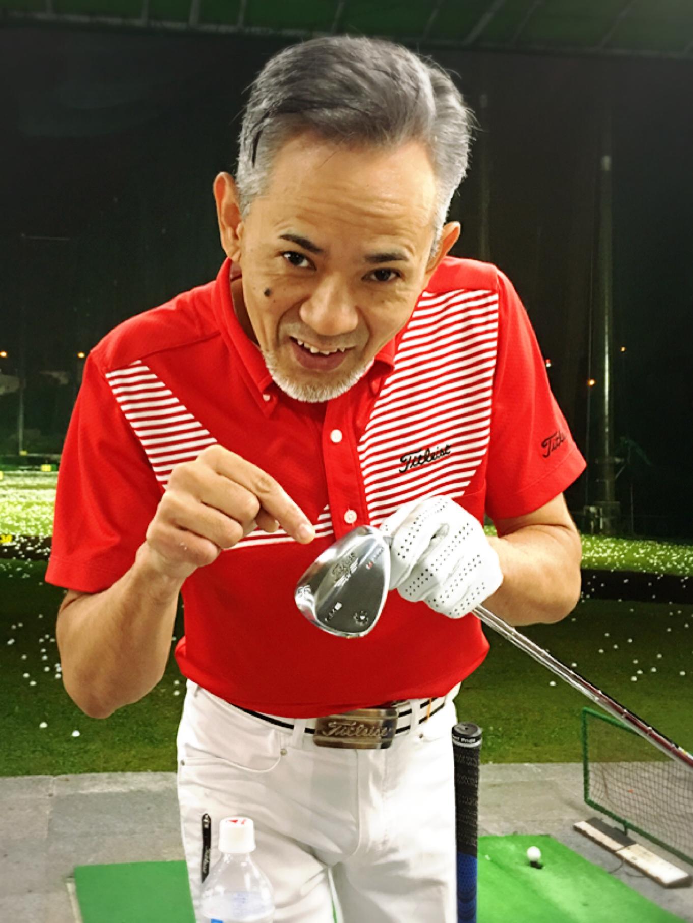この嬉しそうな顔‼️ ゴルフを愛しているという先生 笑顔から溢れています☺?